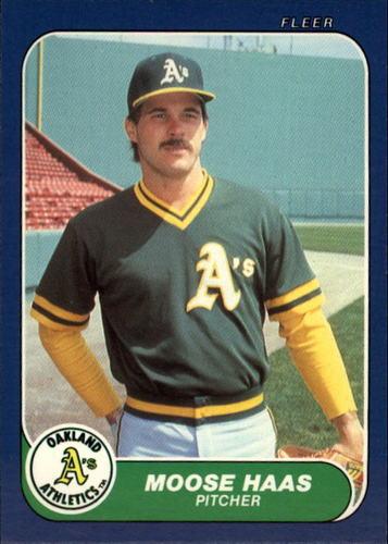 Photo of 1986 Fleer Update #48 Moose Haas