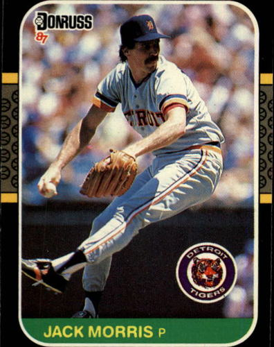 Photo of 1987 Donruss #173 Jack Morris