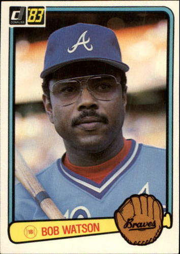 Photo of 1983 Donruss #551 Bob Watson