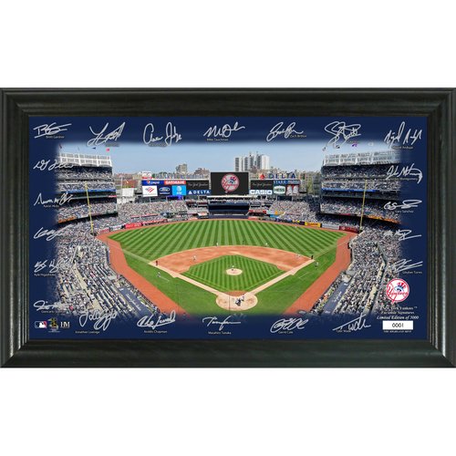 Photo of New York Yankees 2020 Signature Field Limited Edition Frame