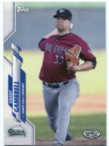 Photo of 2020 Topps Pro Debut #PD76 Grant Gambrell