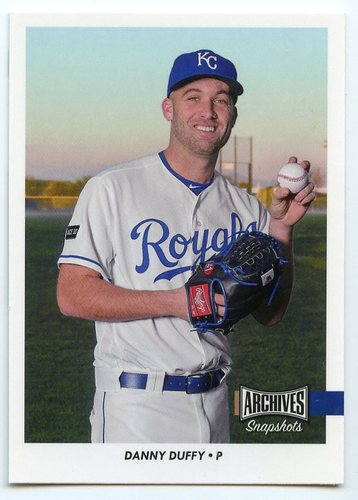 Photo of 2017 Topps Archives Snapshots #ASDD Danny Duffy