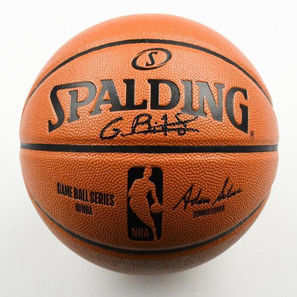 Image of Goga Bitadze - Indiana Pacers - 2019 NBA Draft Class - Autographed Basketball