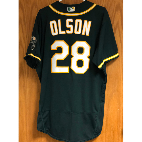 Photo of Game-Used 2020 AL Division Series Jersey - Matt Olson (ALDS Game 3)