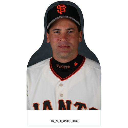 Photo of Giants Community Fund: Giants Omar Vizquel Cutout