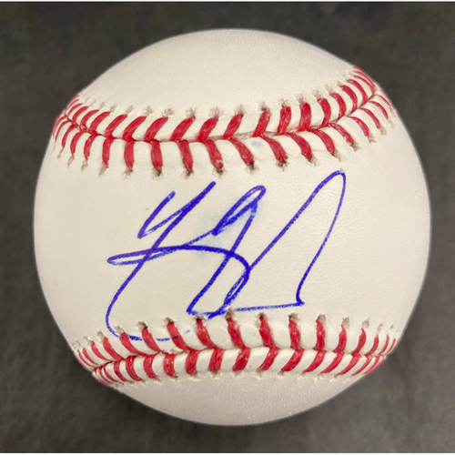 Photo of Yasmani Grandal Autographed Baseball