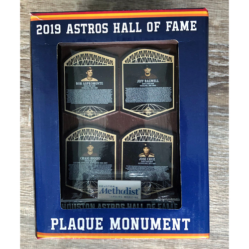 Photo of UMPS CARE AUCTION: 2019 Houston Astros Hall of Fame Plaque Monument