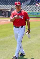 Photo of Luis Ramirez 2021 Game-Worn Jersey(Red)