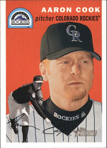 Photo of 2003 Topps Heritage #270 Aaron Cook