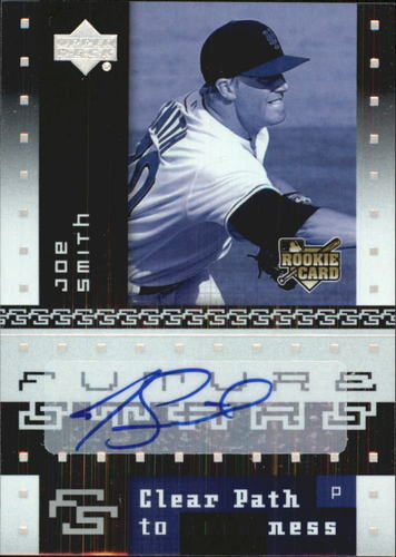 Photo of 2007 Upper Deck Future Stars #132 Joe Smith AU RC