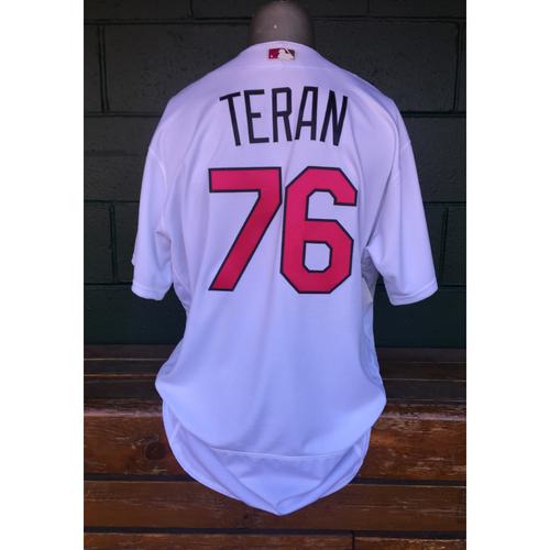 Cardinals Authentics: Kleininger Teran Game Worn Mother's Day Jersey