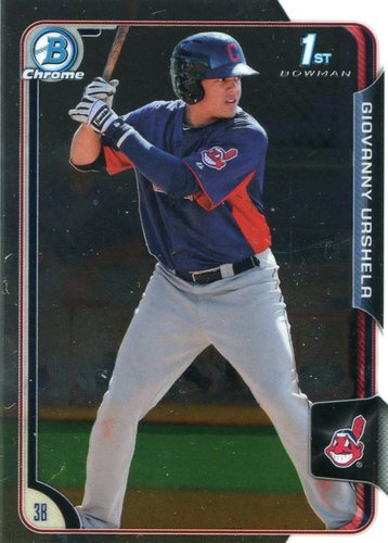 Photo of 2015 Bowman Chrome Prospects #BCP11 Giovanny Urshela