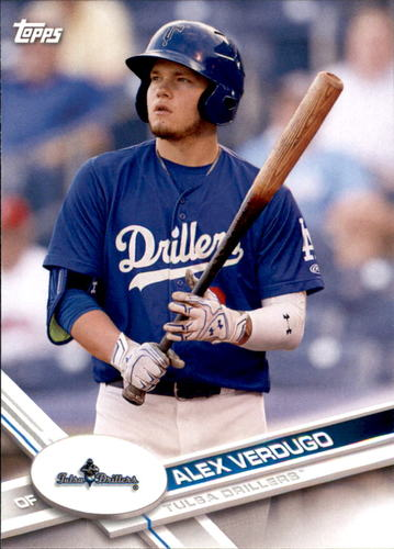 Photo of 2017 Topps Pro Debut #96 Alex Verdugo