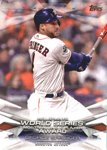 Photo of 2018 Topps MLB Awards #MLBA50 George Springer