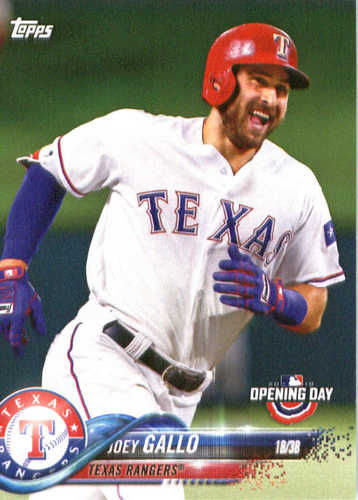 Photo of 2018 Topps Opening Day #100 Joey Gallo