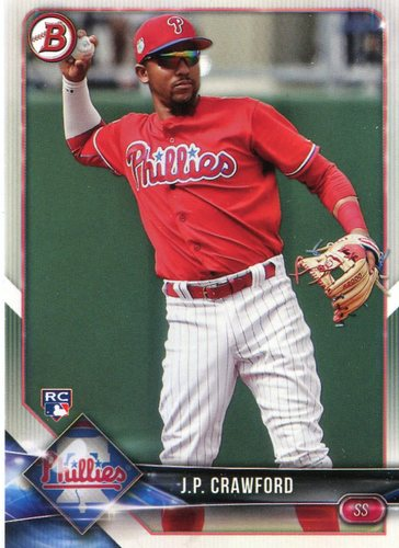 Photo of 2018 Bowman #71 J.P. Crawford  -- Rookie Card