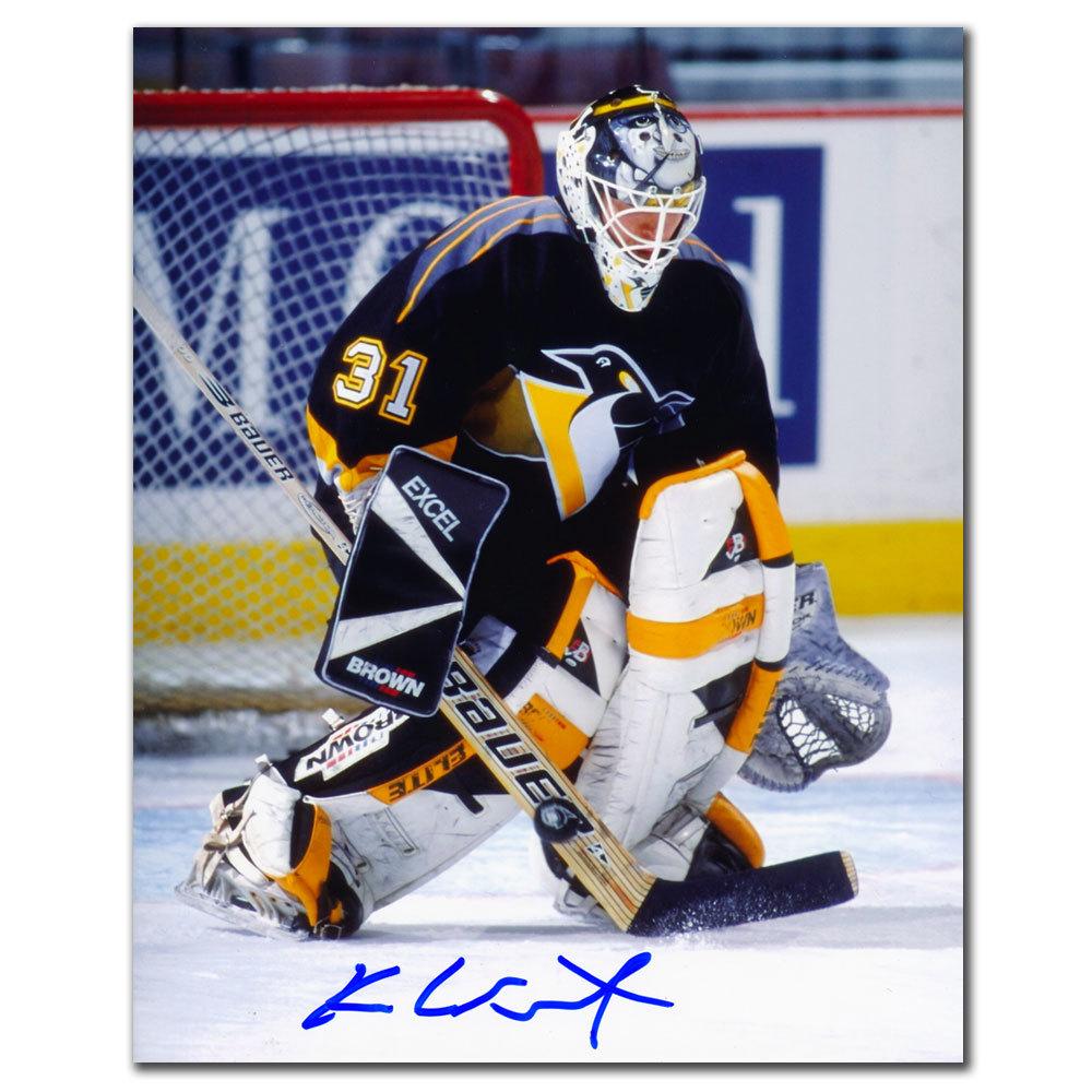 Ken Wregget Pittsburgh Penguins ACTION Autographed 8x10