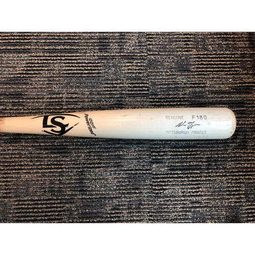 Photo of Gregory Polanco Game-Used Adam Frazier Model Broken Bat - 2 Run Home Run