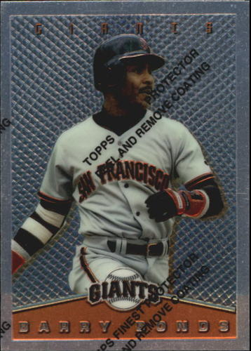 Photo of 1995 Topps Finest Inserts #7 Barry Bonds