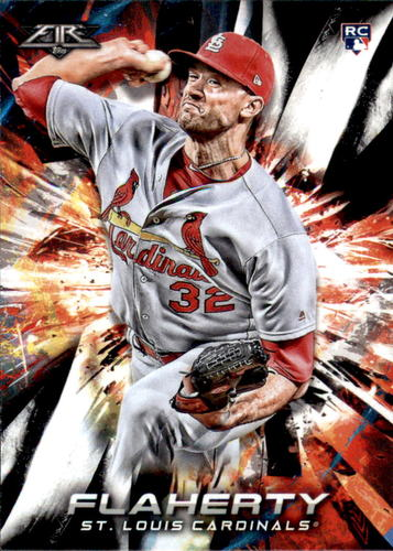 Photo of 2018 Topps Fire #175 Jack Flaherty RC