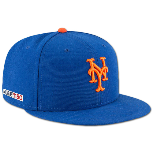 Photo of Zack Wheeler #45 - Game Used Blue Hat - 2019 Opening Day - Mets vs. Nationals - 3/28/19