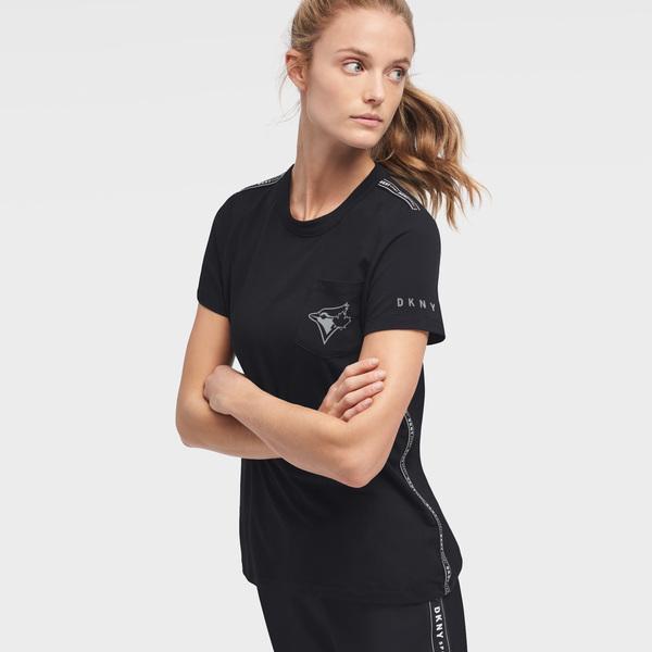 Toronto Blue Jays Women's Donna Sporty T-Shirt by DKNY