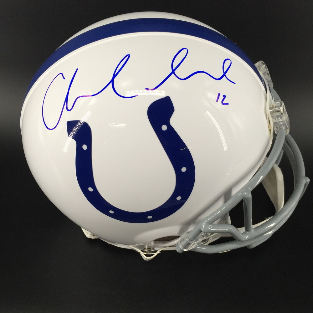 promo code 5f738 6e194 NFL Auction | NFL - Colts Andrew Luck Signed Proline Helmet