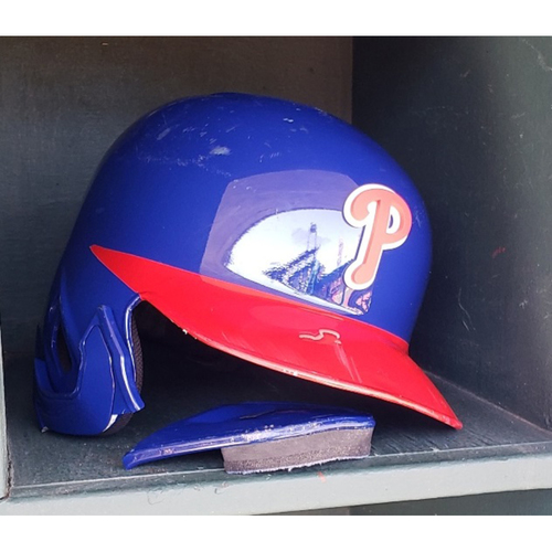 Photo of 2019 Bryce Harper Game-Used Alternate Batting Helmet