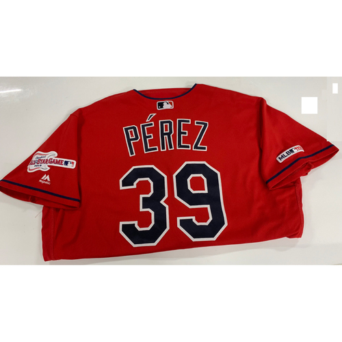 Photo of Oliver Perez Game Used Alternate Home Jersey