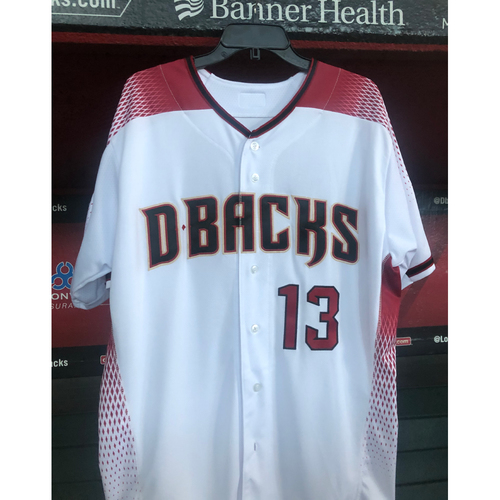 Photo of Nick Ahmed Team-Issued Jersey