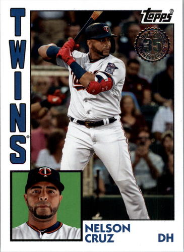 Photo of 2019 Topps Update '84 Topps #8444 Nelson Cruz