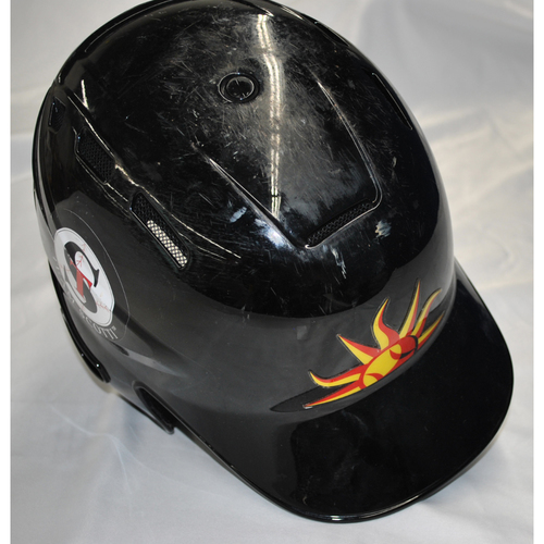 Photo of Arizona Fall League - Game-Used Batting Helmet - Player Name: Jo Adell (LAA), Jersey Number: 25