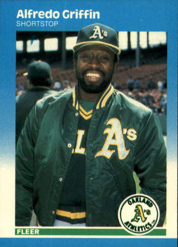 Photo of 1987 Fleer #392 Alfredo Griffin