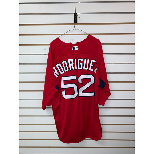 Photo of Eduardo Rodriguez Team Issued Home Batting Practice Jersey