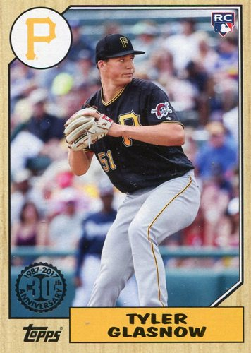 Photo of 2017 Topps '87 Topps #87104 Tyler Glasnow