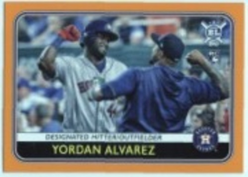 Photo of 2020 Topps Big League Orange #123 Yordan Alvarez