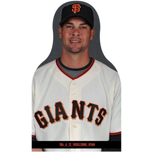 Photo of Giants Community Fund: Giants Ryan Vogelsong Cutout