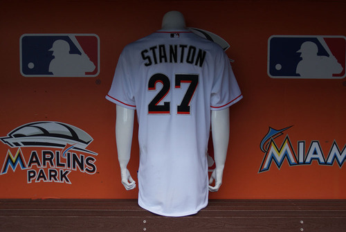 competitive price c7192 65b34 MLB Auctions | 2015 Auction: Giancarlo Stanton Game-Used ...
