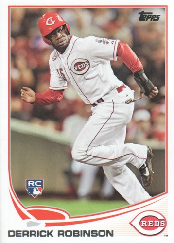 Photo of 2013 Topps Update #US99 Derrick Robinson RC