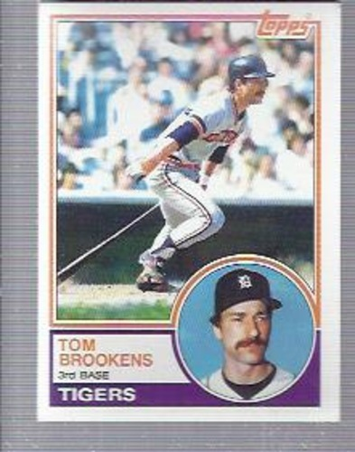 Photo of 1983 Topps #119 Tom Brookens