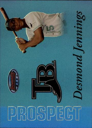 Photo of 2007 Bowman's Best Prospects Blue #BBP24 Desmond Jennings