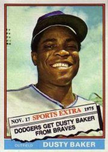 Photo of 1976 Topps Traded #28T Dusty Baker