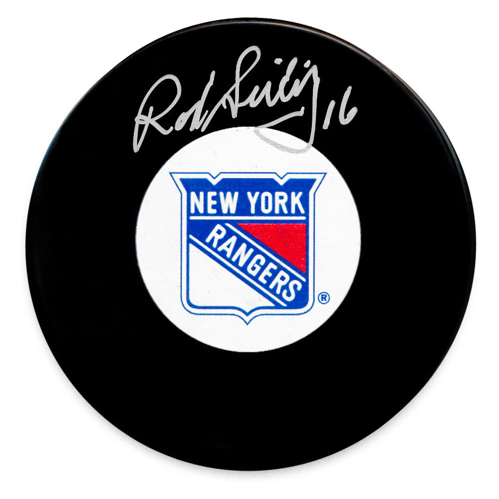 Rod Seiling New York Rangers Autographed Puck