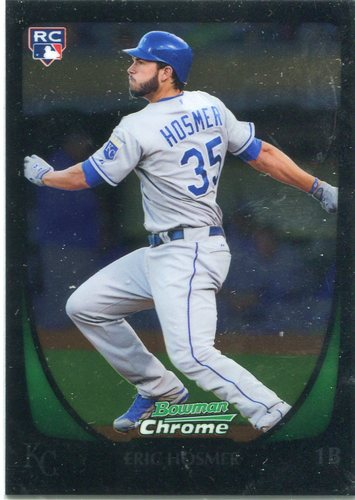 Photo of 2011 Bowman Chrome #196A Eric Hosmer Rookie Card