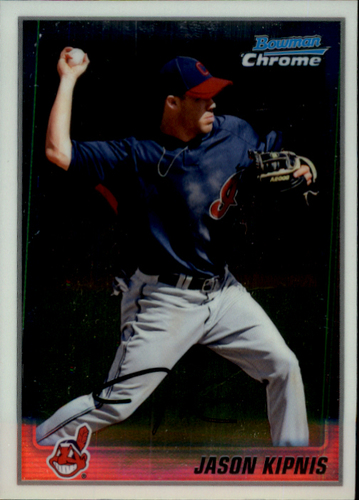 Photo of 2010 Bowman Chrome Prospects #BCP196A Jason Kipnis Pre-Rookie Card