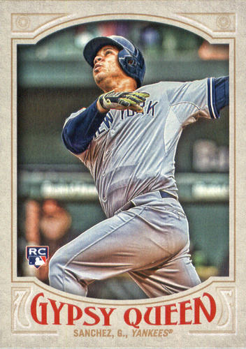 Photo of 2016 Topps Gypsy Queen #72 Gary Sanchez Rookie Card