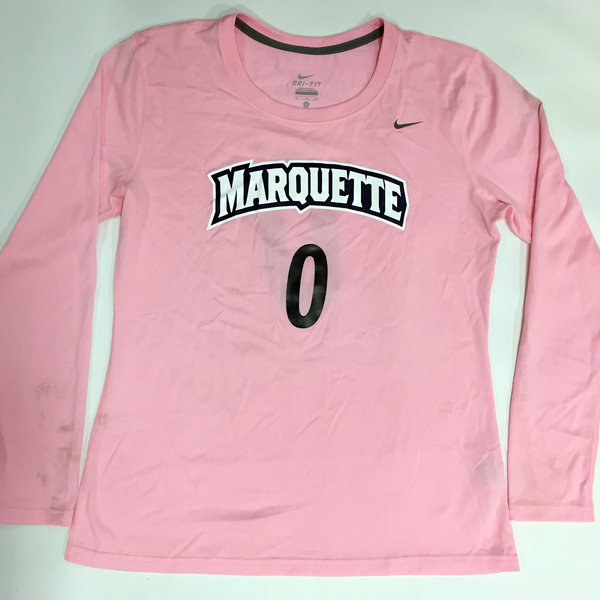 Photo of 2017 Marquette Women's Soccer 'Kick for a Cure' Jersey #0 (Size M)