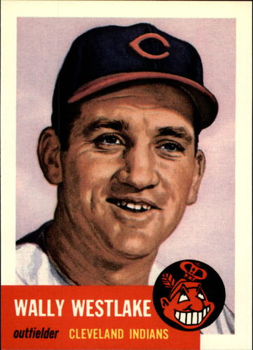 Photo of 1991 Topps Archives 1953 #192 Wally Westlake