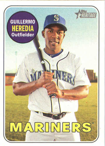 Photo of 2018 Topps Heritage #186 Guillermo Heredia