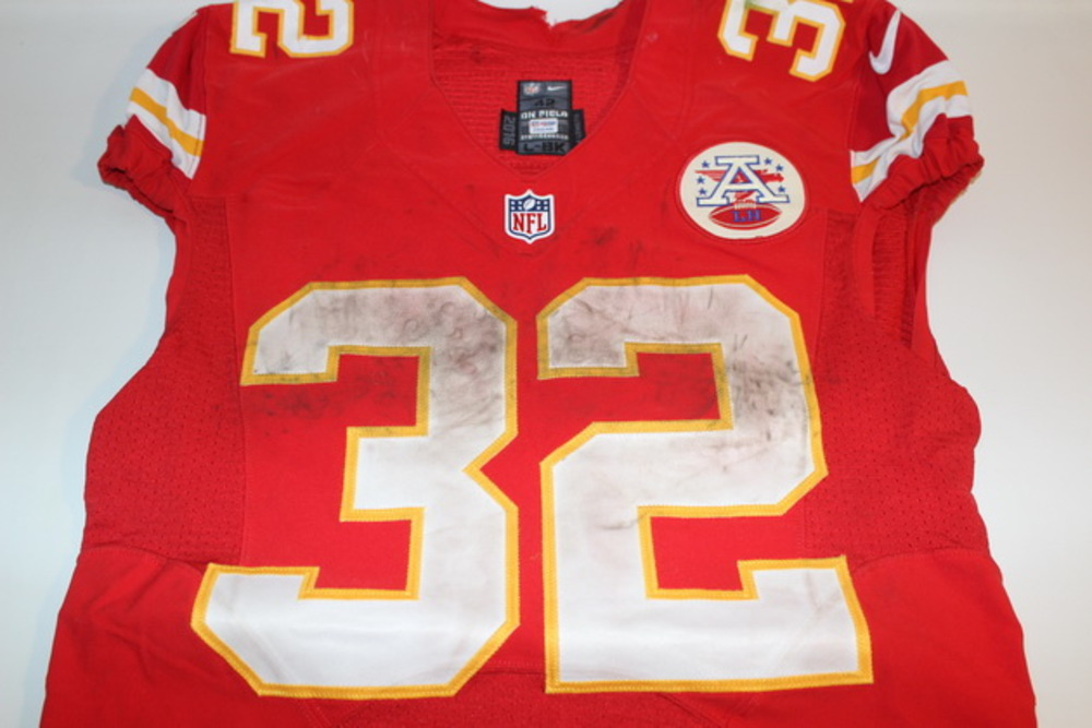 BCA - CHIEFS SPENCER WARE GAME WORN AND SIGNED CHIEFS JERSEY (OCTOBER 23, 2016)